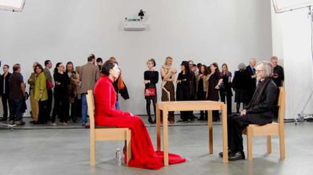 Marina Abramović: The Artist is Present, and Overwhelmingly So