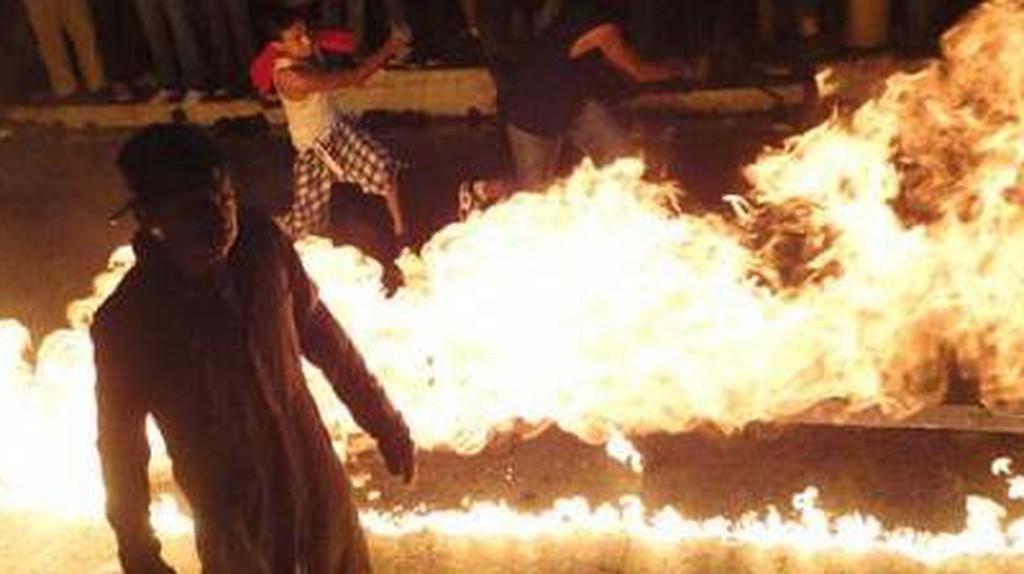 El Salvador's Festival Of Fire