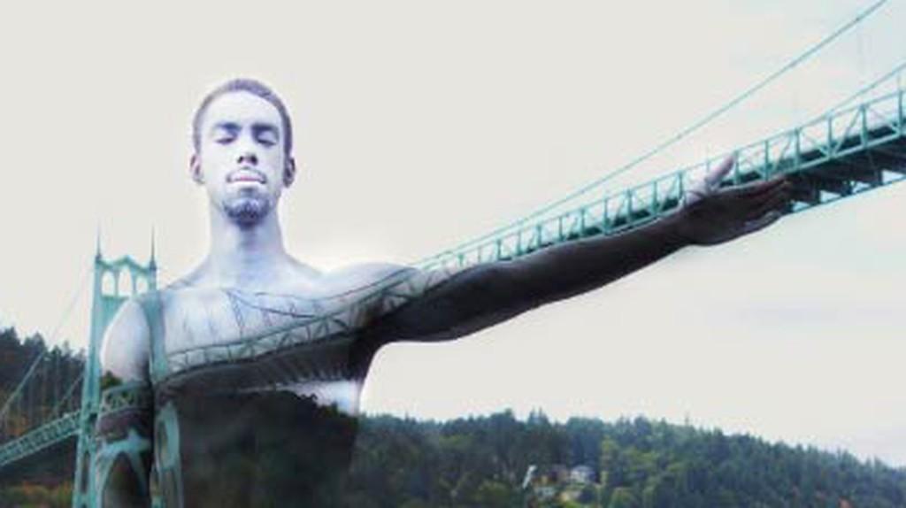 Natalie Fletcher's Amazing Landscape Body Art