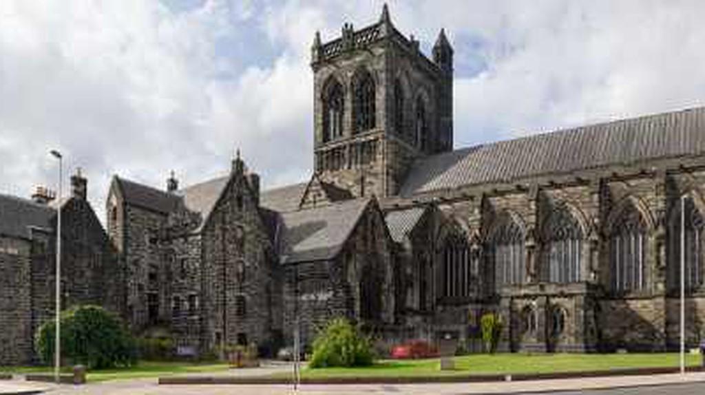The Alien Gargoyle Of Paisley Abbey