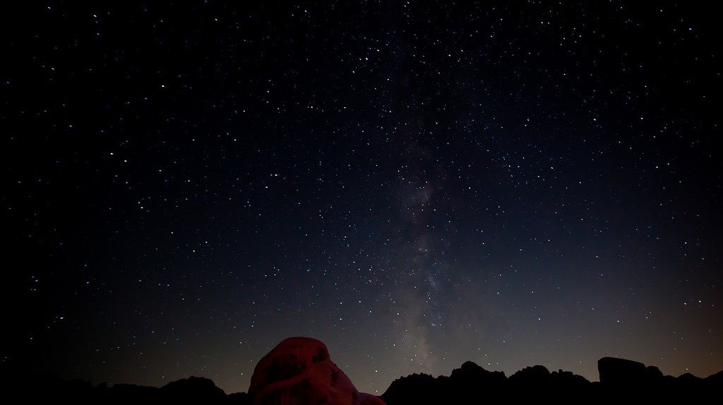The Milky Way, Joshua Tree National Park © Esther Lee/flickr