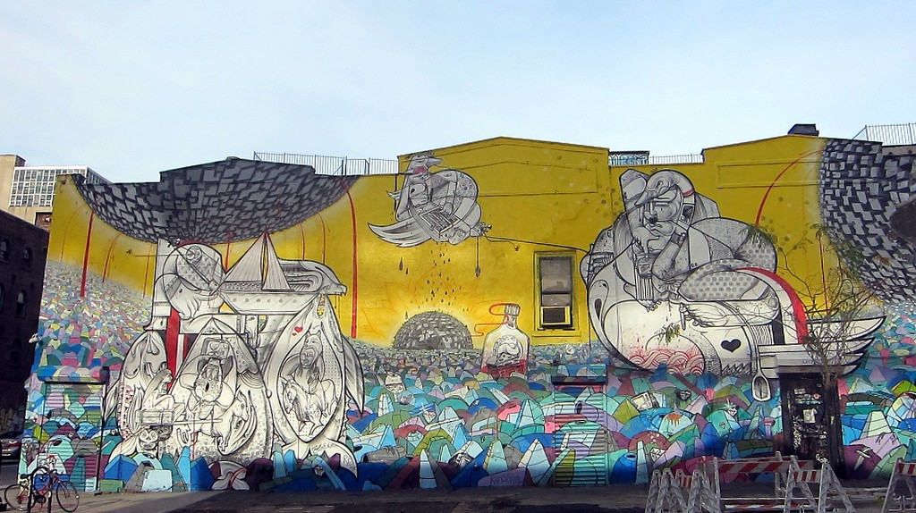 Williamsburg Mural, Brooklyn © Allison Meier   Flickr