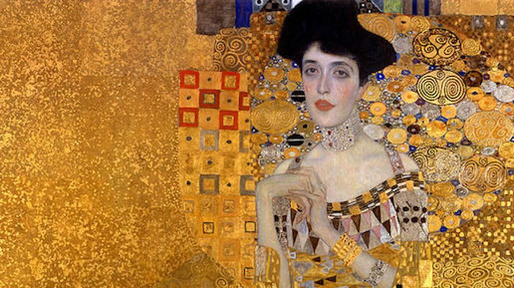 Gustav Klimt, Portrait of Adele Bloch-Bauer 1, 1907   © Gustav Klimt/WikiCommons