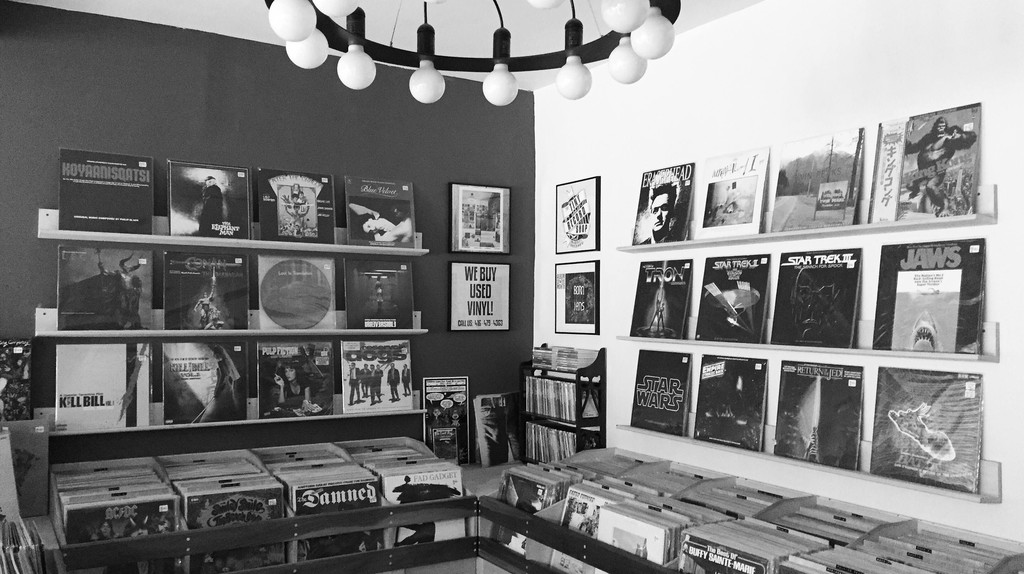 Soundtrack Week at The Tiny Record Shop   Image courtesy of The Tiny Record Shop