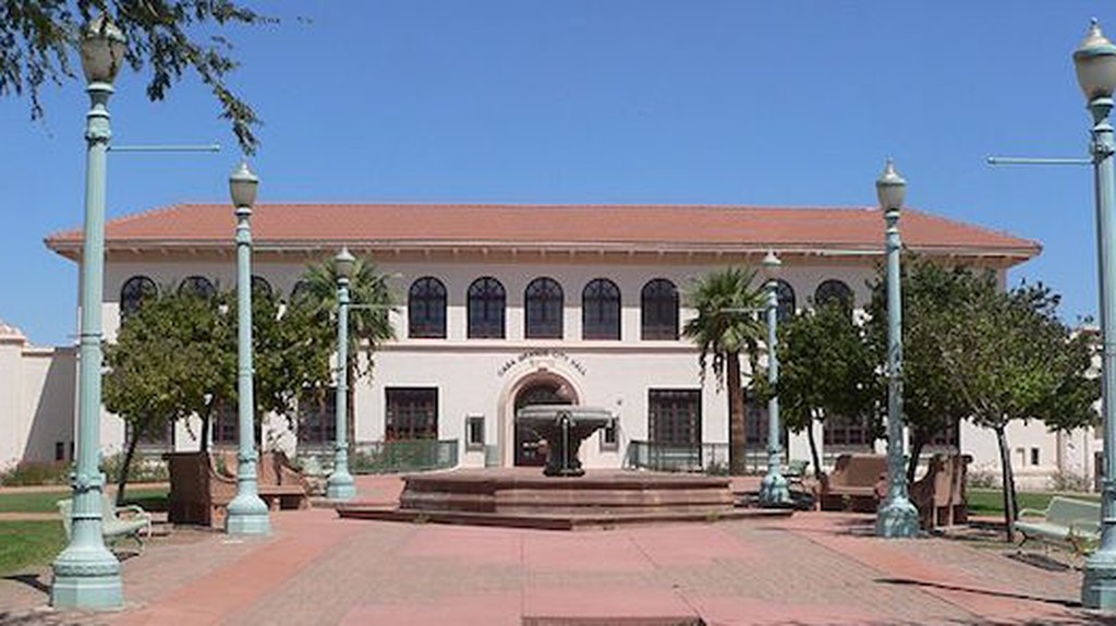 Casa Grande City Hall | Ⓒ Ammodramus/WikiCommons