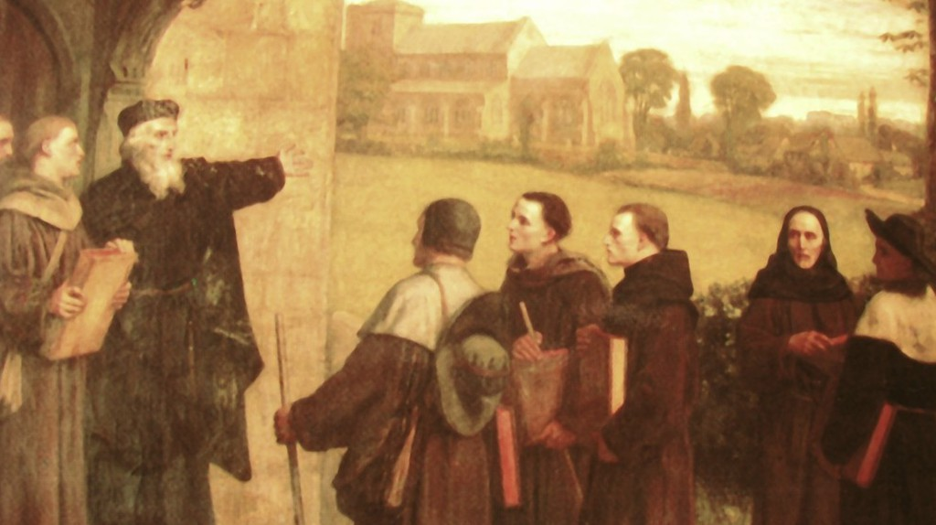 John Wycliffe and his followers   Pembrills / Wikicommons