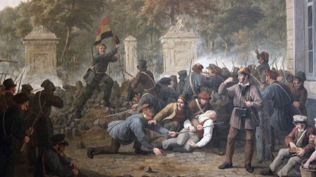 Belgian Revolution| ©GustafWappers/Wiki Commons