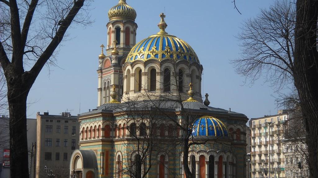 Sobór św Aleksandra Newskiego w Łodzi   © Loraine/WikiCommons