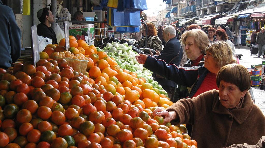 Machane Yehuda Market Shoppers | © Yoninah/WikiCommons