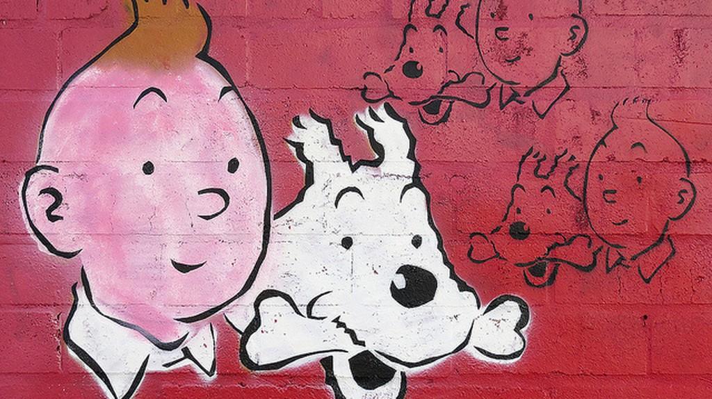 Tintin and Snowy | © Newtown graffitti/Flickr
