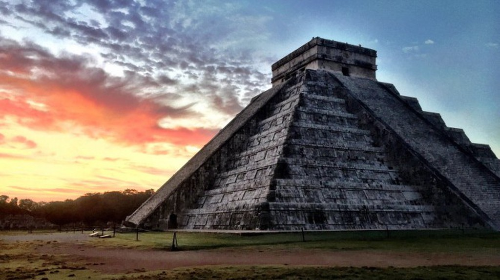 Sunrise at Chichen Itza | Courtesy of Nicholas Souroujon