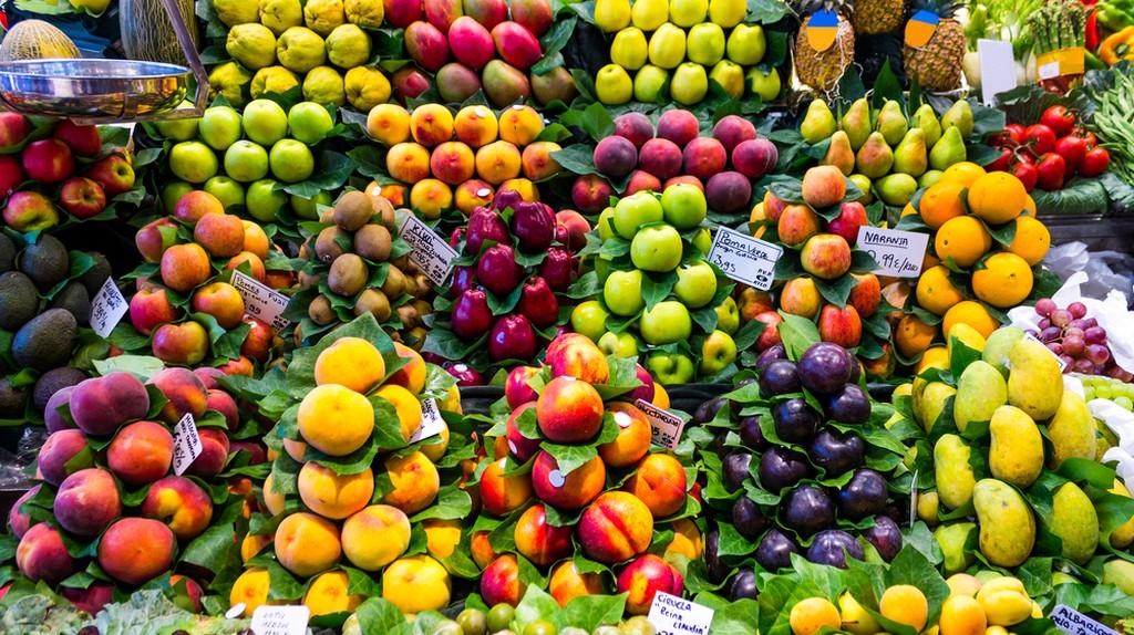 Fruit and Veg Market, Barcelona | © mikecphoto/Shutterstock