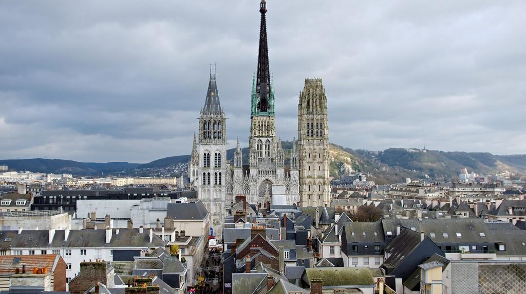 Notre Dame de Rouen Cathedral, Rouen | © WikiCommons