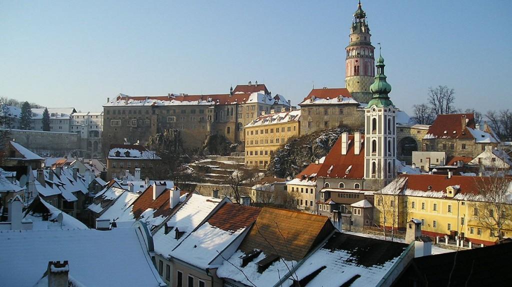 Cesky Krumlov in the winter | ©Asahiko/WikiCommons