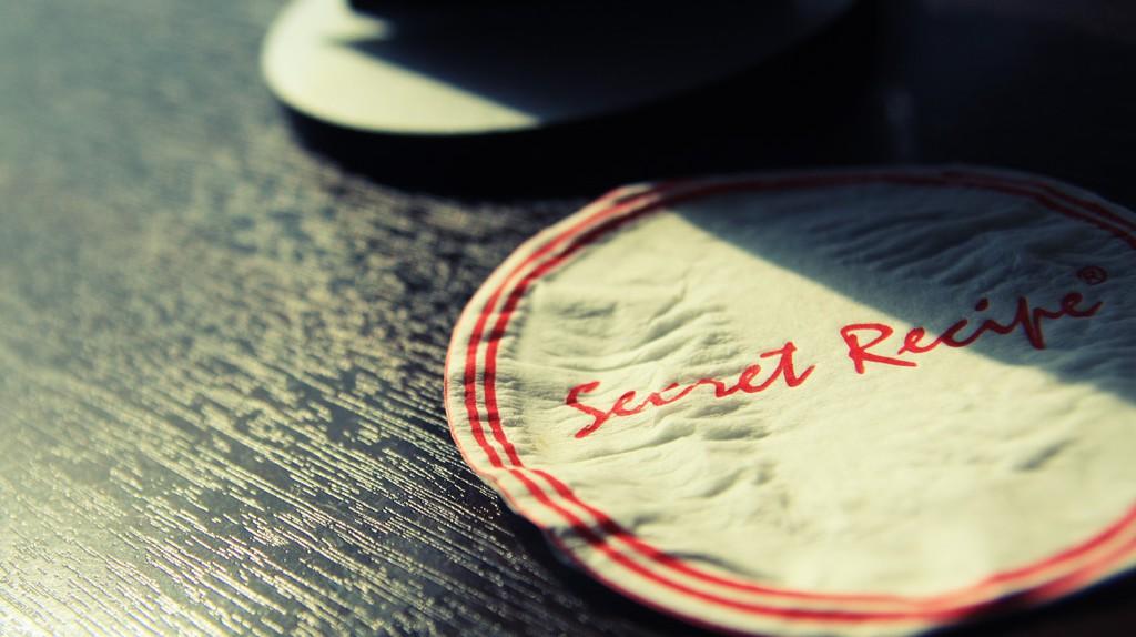 Secret Recipe | © durrah03/Flickr