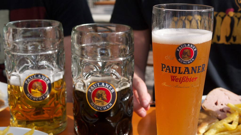 Beers at Munich | © Jun Seita/Flickr
