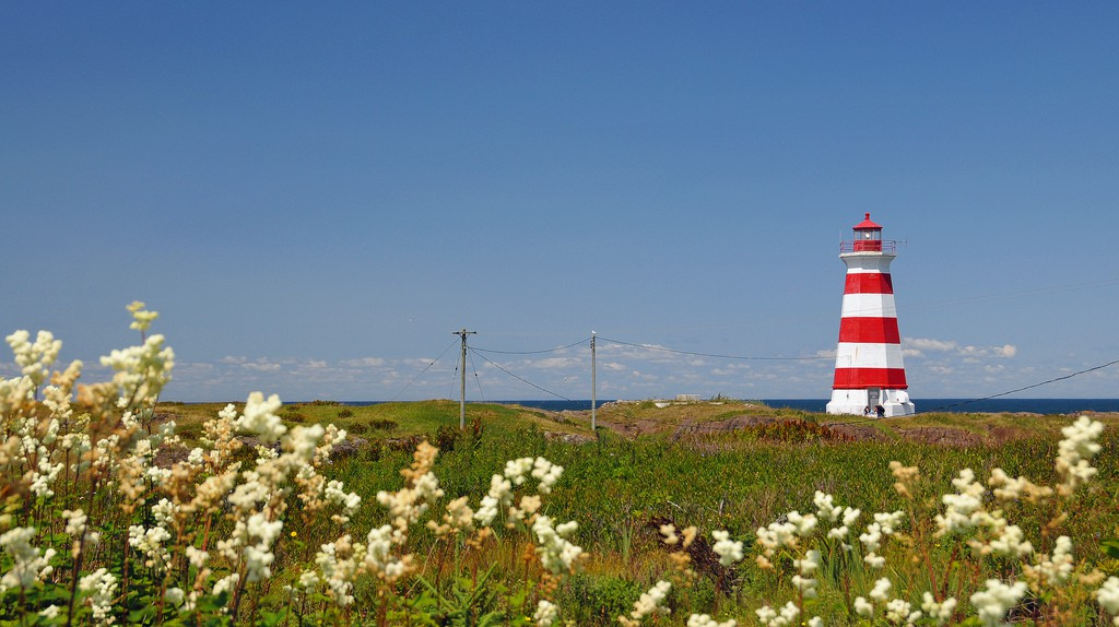 Brier Island Lighthouse | © Dennis Jarvis