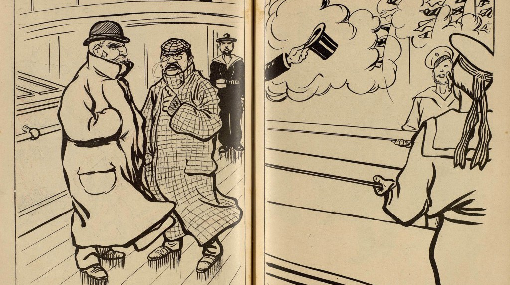 BD by Caran d'Ache for Le Rire, 1902|© WikiCommons