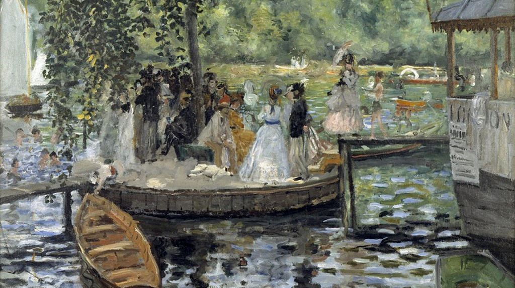 Auguste Renoir: La Grenouillère..NM 2425 | © CarlosR38/Flickr