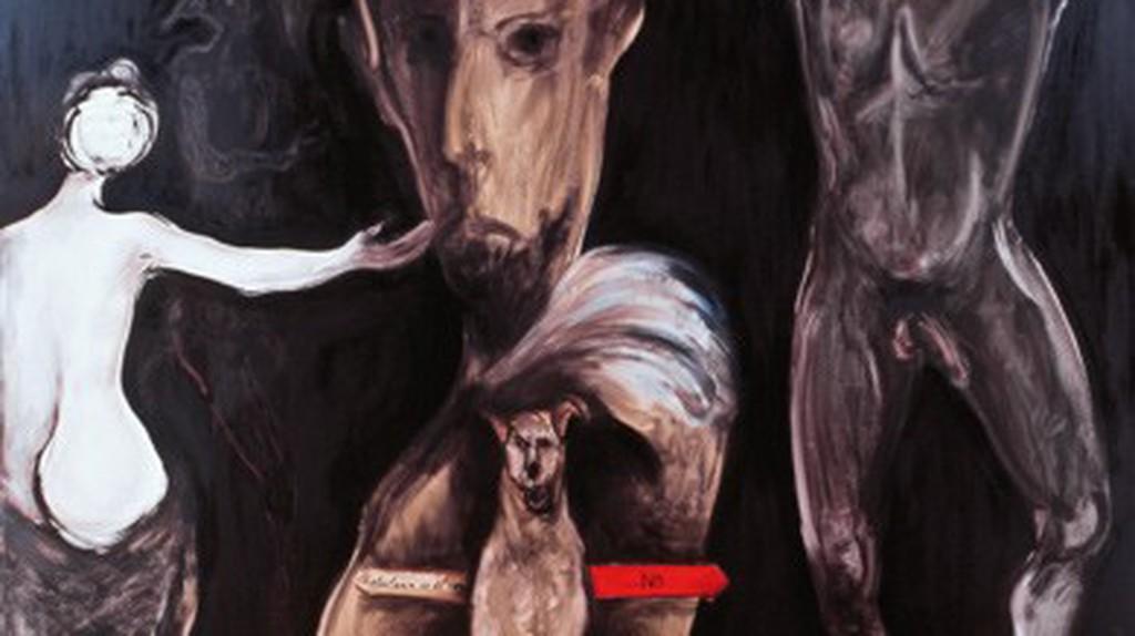 A refocilarse con el negro by Sofia Gandarias   Courtesy  of Gandarias.es