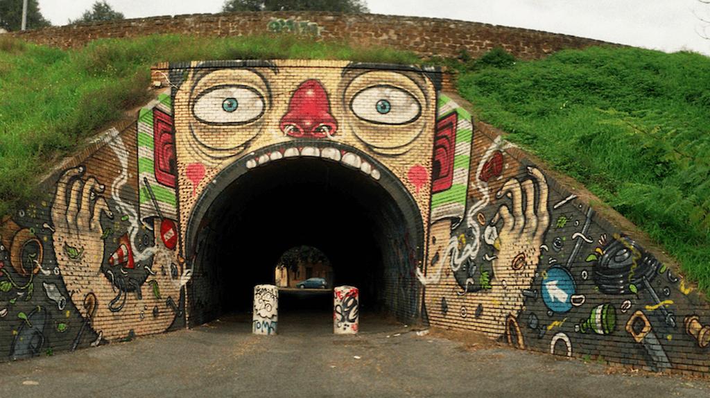 Mr. Thoms, Tunnel del Quadraro | Courtesy of Ilaria Ingravalle