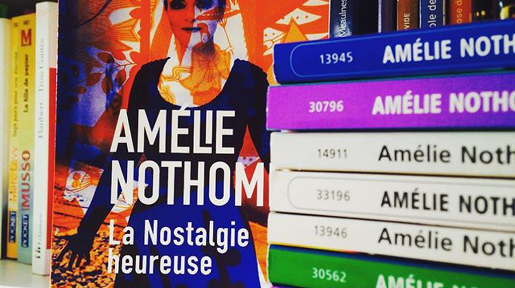Nothomb's books|© happy_bookaholic|Instagram