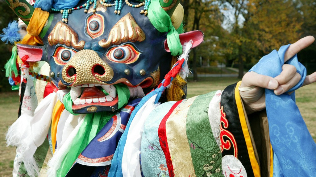 Tsam-Yama God of the Dead | © Artisphere/Flickr