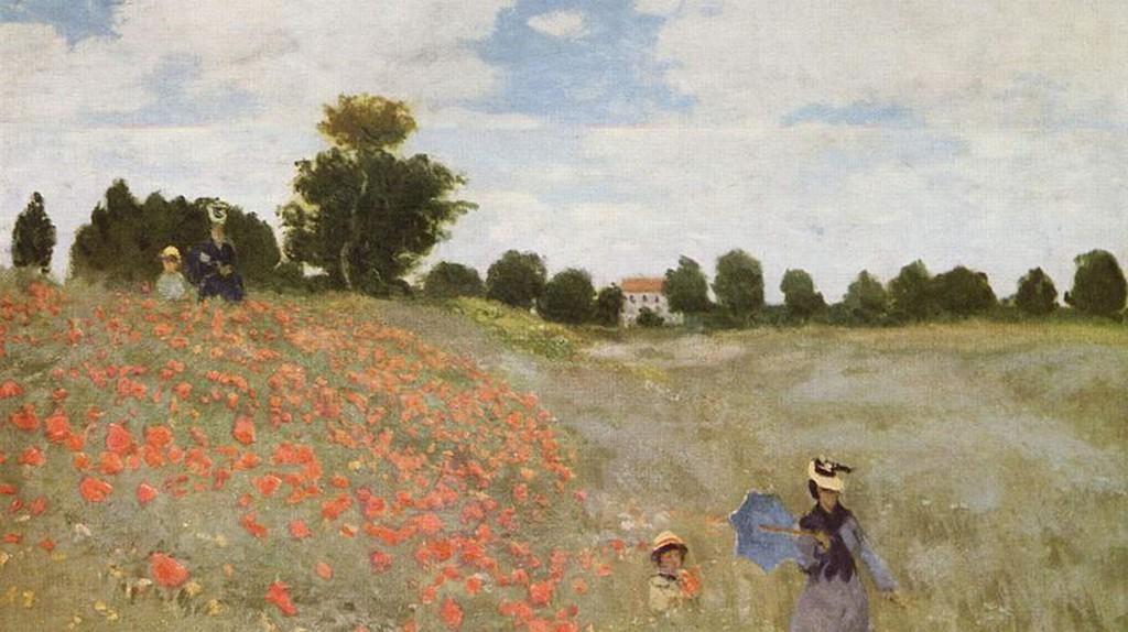 Poppies (1873) | © Bot / Wikicommons