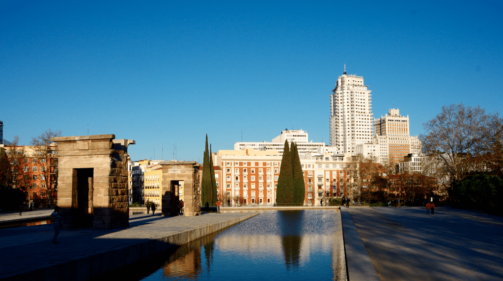 Egyptian Temple of Debod in Parque del Oeste | © Laura Kauffmann