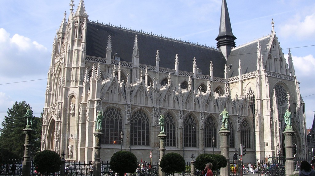 Our Blessed Lady of the Sablon Church  © Promeneuse7 / WikiCommons