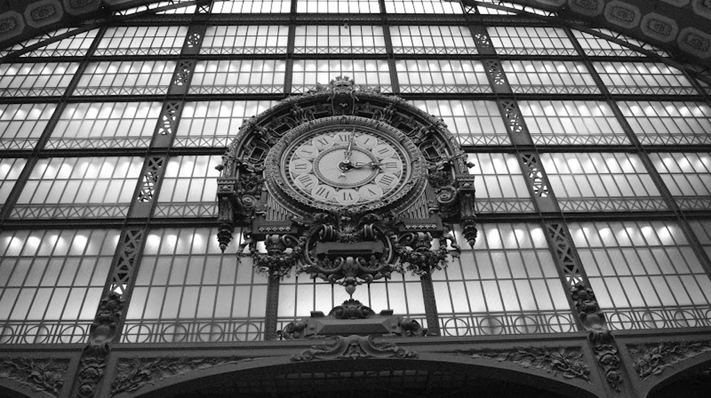 Clock inside Musée d'Orsay|© Molli McConnell