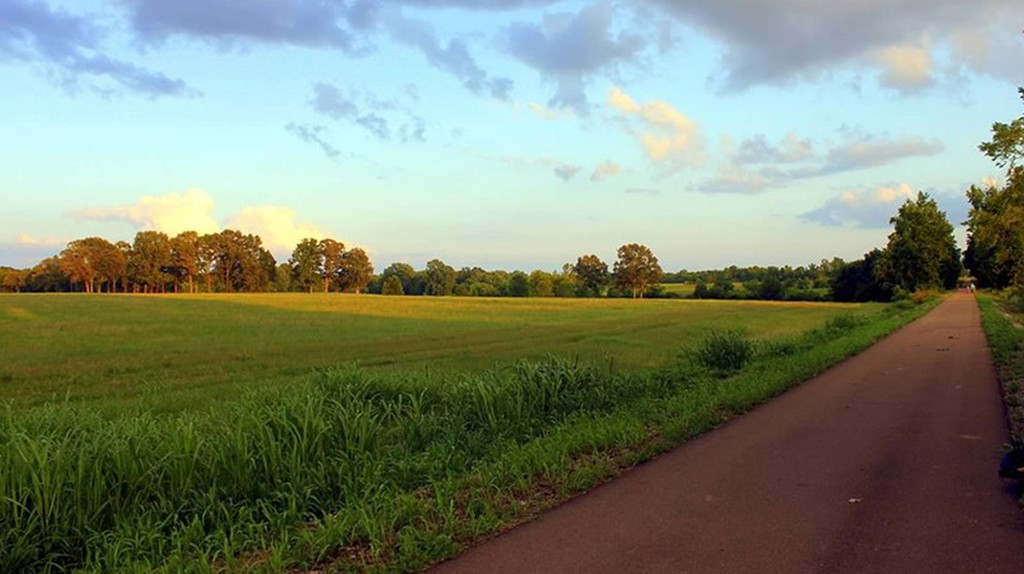 The most beautiful bike trails in the South  © Sean Johnson / Visit New Albany