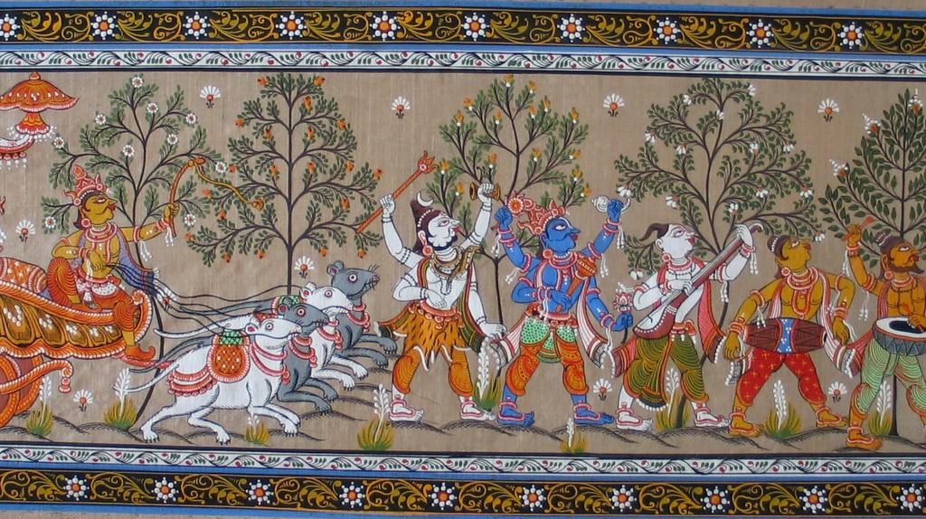 Pattachitra | © Wikicommons
