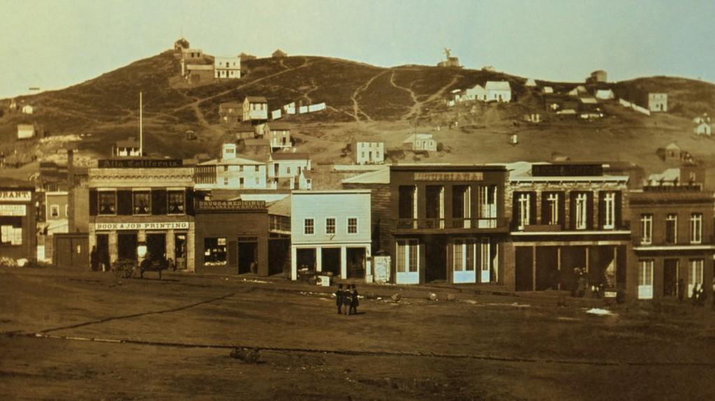 The Barbary Coast, 1851 © Library of Congress/Wikipedia