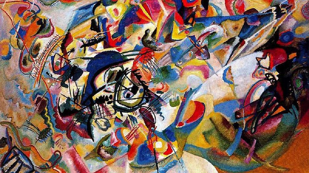Wassily Kandisky, Composition VII | ©Tretyakov Gallery/WikiCommons