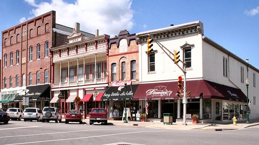 Downtown Noblesville | © Derek Jensen/WikiCommons