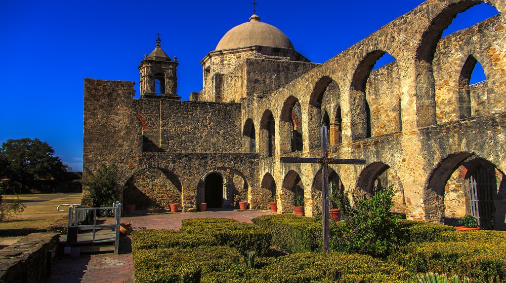 San Antonio Mission | © Mobilus In Mobili/Flickr