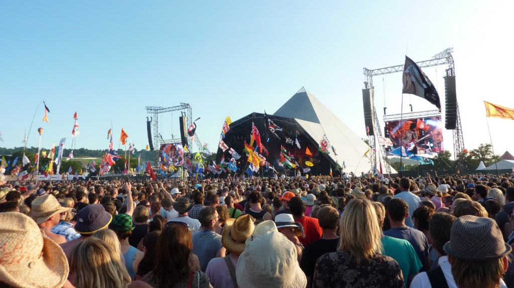Pyramid Stage, Glastonbury | © wonker / Flickr