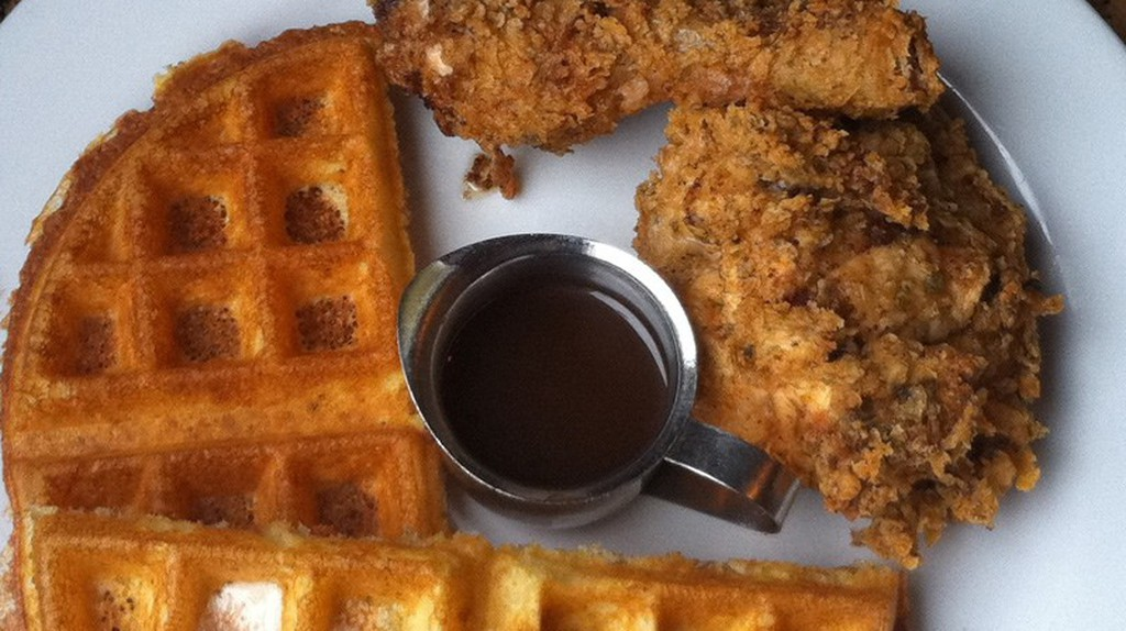 Waffles and Fried Chicken | ©Sonny Abesamis/Flickr