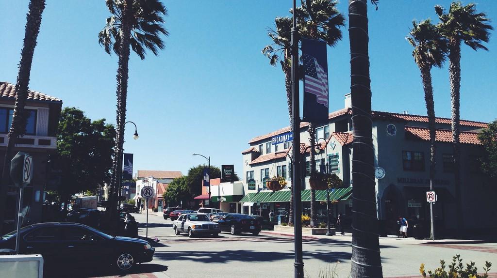 Downtown Millbrae, California ©   abrackin/Flickr