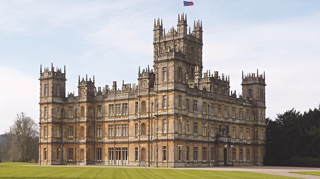 Highclere Castle NE Corner | Courtesy Highclere Castle