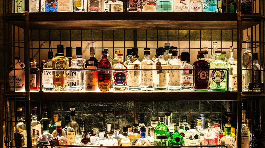 Gin Bar | Courtesy of Holborn Dining Room