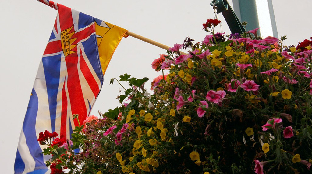 The British Columbia flag | © Waferboard/Flickr