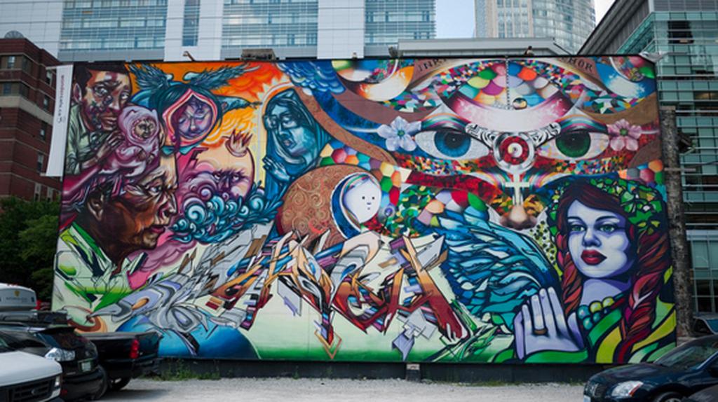 Graffiti, Toronto | © Bruce D'Arcus/Flickr