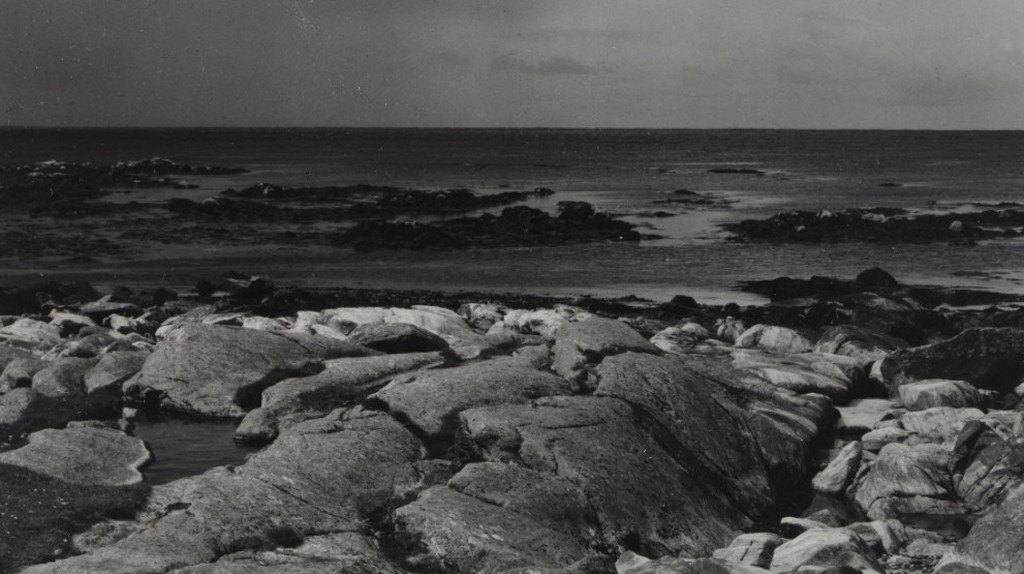 Sea Rocks and Sea, The Atlantic, South Uist, Hebrides by Paul Strand, 1954. Victoria and Albert Museum, London | Courtesy of Paul Strand Archive, Aperture Foundation