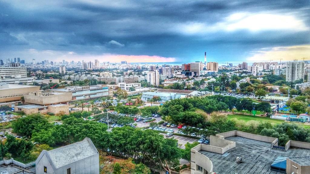 Tel Aviv Storm | © TomUrbach/Pixabay