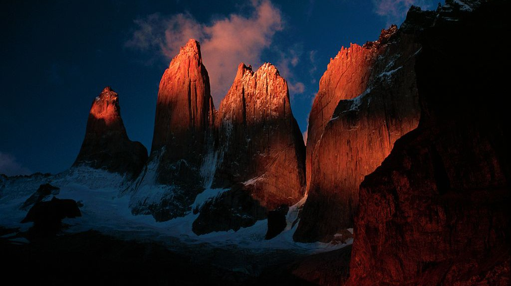 Torres del Paine, Chile | © FlickrLickr/WikiCommons