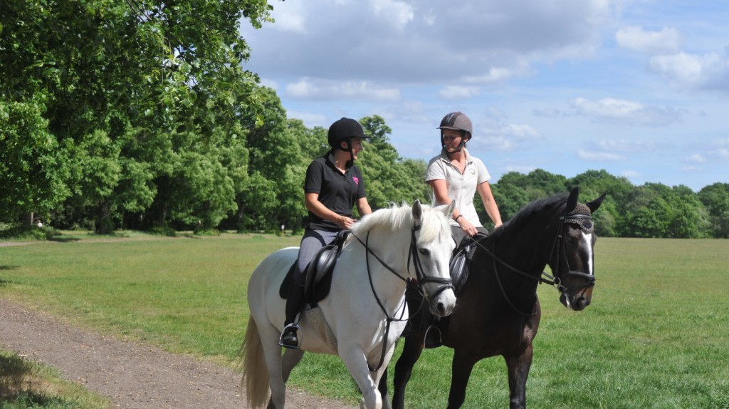 Hack through the countryside | Courtesy of Wimbledon Village Stables