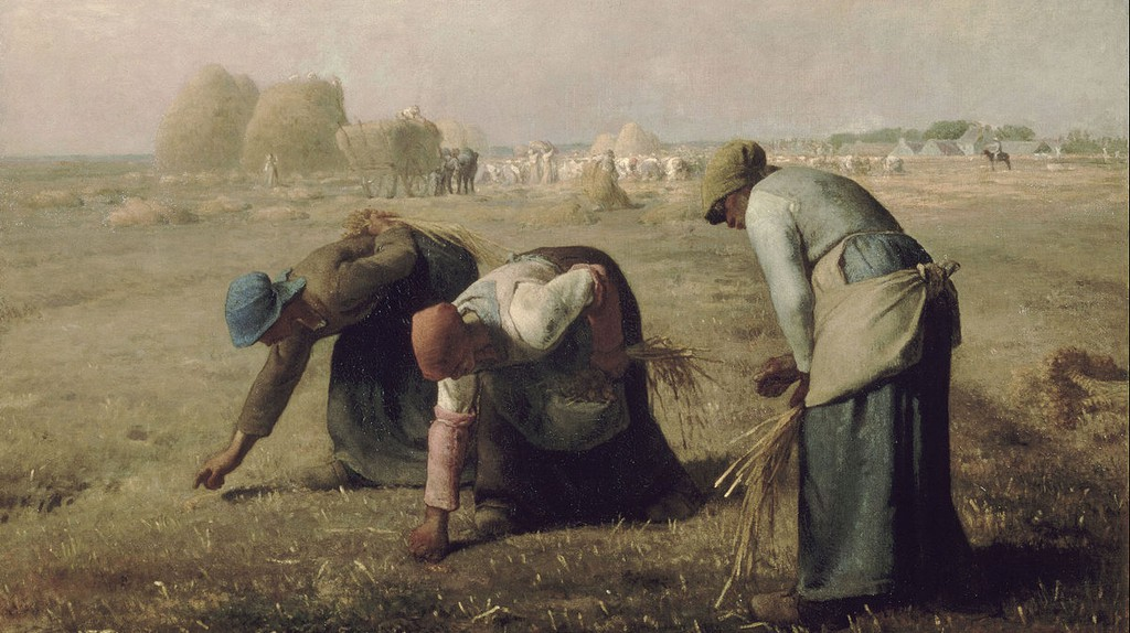 Gleaners by Jean-François Millet | ©Public Domain/WikiCommons