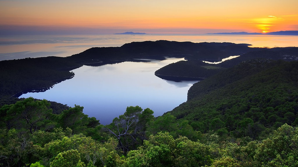 Sunset on Mljet | © Jaganjac/WikimediaCommons